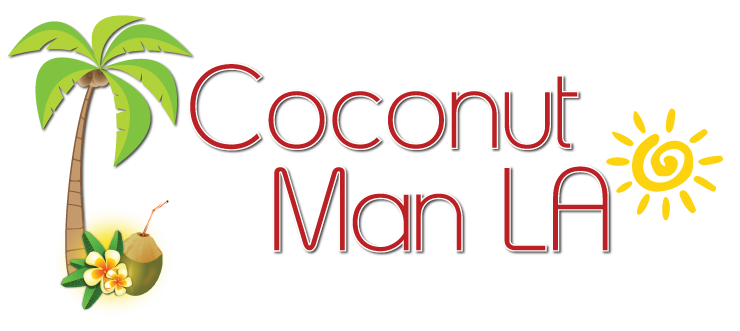 Coconut Man LA Logo