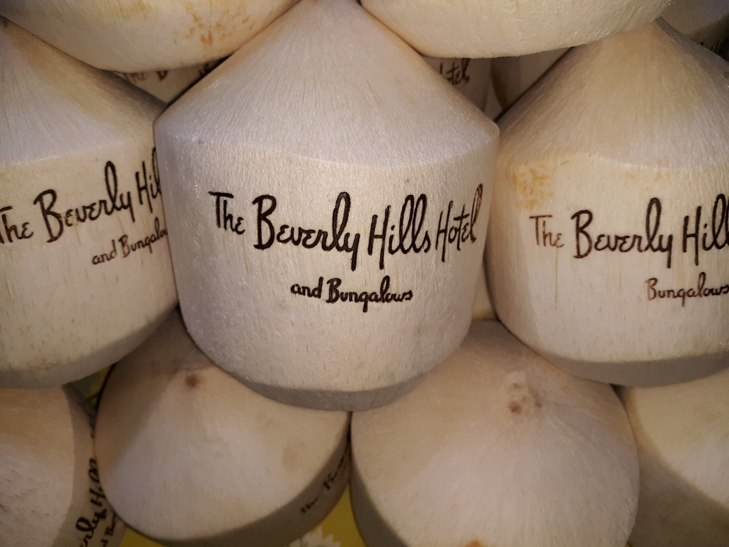 Custom Ink Branding Coconut for Corporate Event Hotel