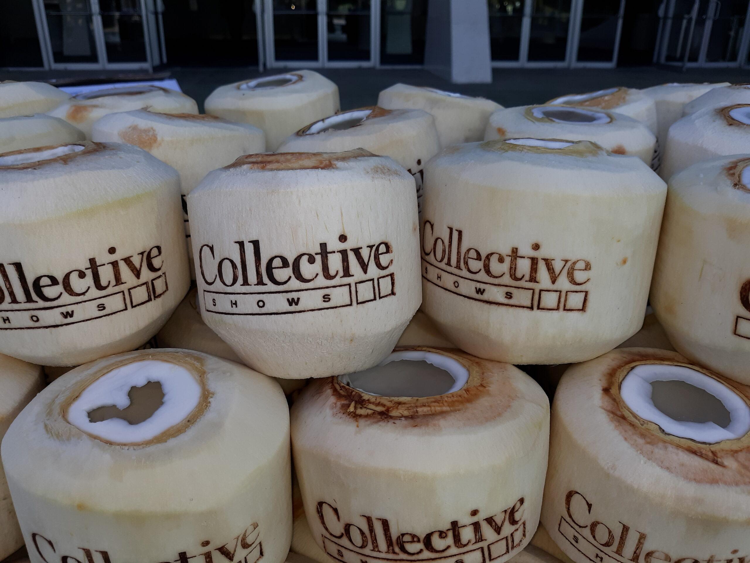 Custom Ink Branding Coconut for Corporate Event