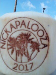 Custom Hot Branding Coconuts for Corporate Branding Event
