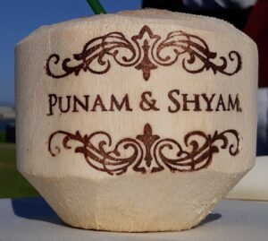 Personalized Coconut Hindu Weddings and Events